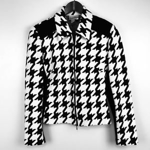 Joseph Ribkoff Canada Blazer Jacket Houndstooth